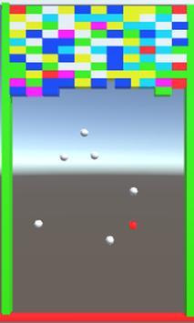 ブロック崩し 避けゲー apk screenshot
