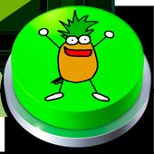 Pinneapple Jelly Button icon