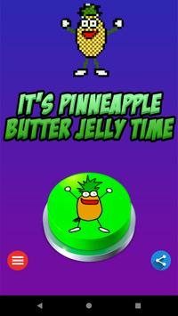 Pinneapple Jelly Button poster