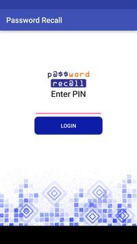 Password Recall poster