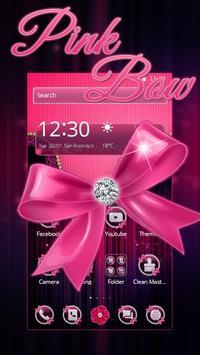 Pink Bow Diamond Love Theme poster