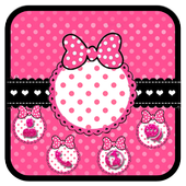 Pink Bowknot icon