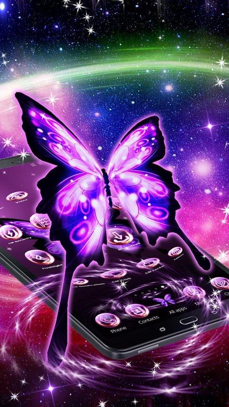 3D Neon Butterfly Launcher for Android - APK Download3d Neon Butterflies