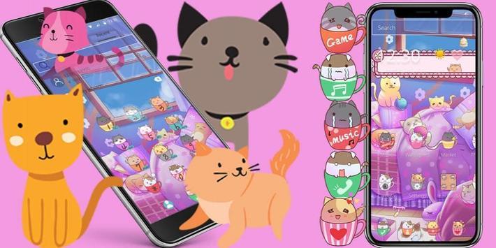Kitten Lovely Icon Packs screenshot 3