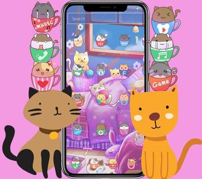 Kitten Lovely Icon Packs screenshot 8