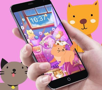 Kitten Lovely Icon Packs screenshot 9