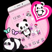 Pink Lovely Panda icon