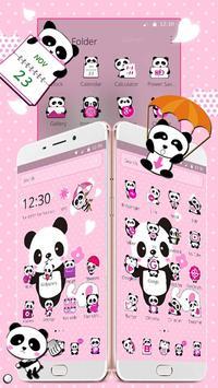 Pink Lovely Panda screenshot 1