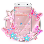Rose Gold Butterfly icon