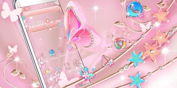 Rose Gold Butterfly screenshot 3