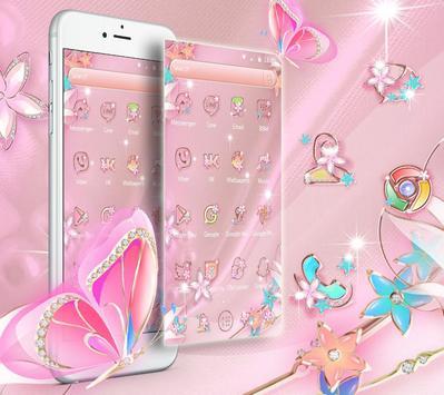 Rose Gold Butterfly screenshot 2
