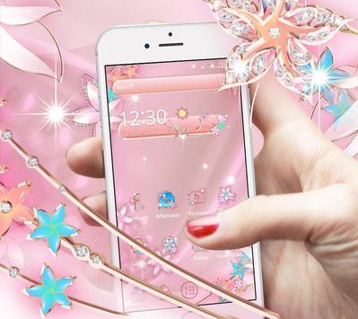Rose Gold Butterfly screenshot 7