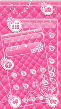 Pink Pearl Glow Theme apk screenshot