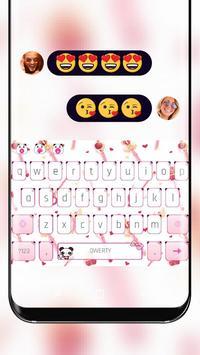 Pink Magic Sailor Keyboard Theme Moon Princess poster