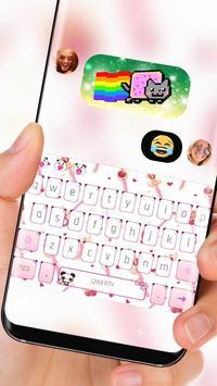 Pink Magic Sailor Keyboard Theme Moon Princess apk screenshot