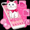Pink Kitty Cute Theme