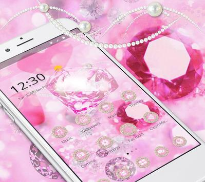 Pink Luxury Diamond apk screenshot