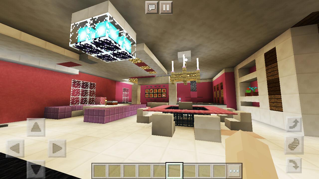 minecraft pink games supermansion apk