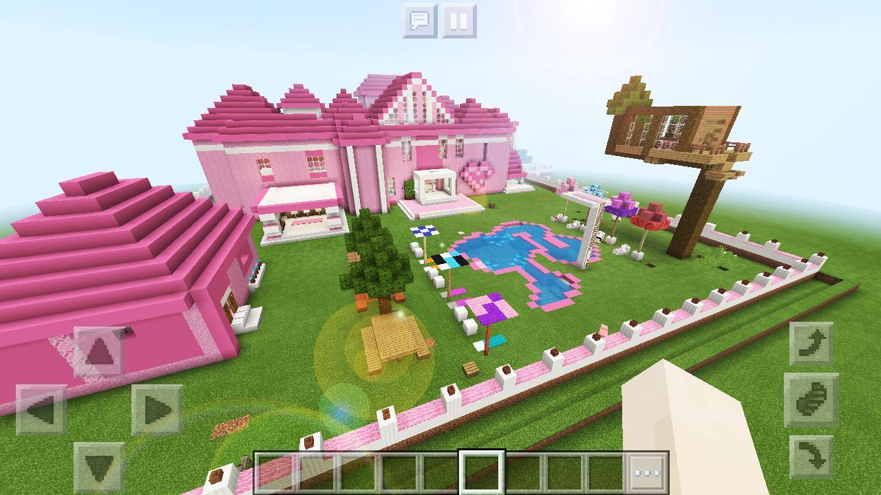 minecraft pink games supermansion apkpure screen upgrade internet fast app using save data apk