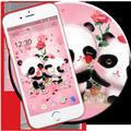 Pink Panda Love