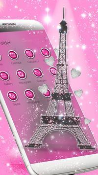 Love Paris Eiffel Theme poster