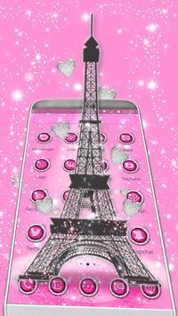 Love Paris Eiffel Theme apk screenshot