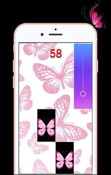 Butterfly Piano Tiles poster