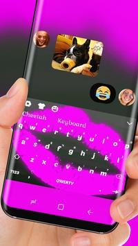Neon Purple Lip Wallpaper Keyboard screenshot 2