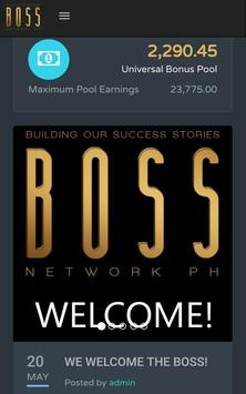 BOSS NETWORK PH poster