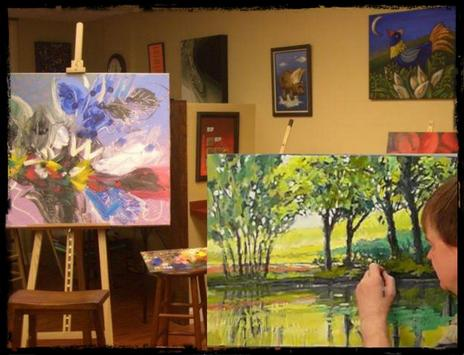 Step by step oil painting screenshot 1