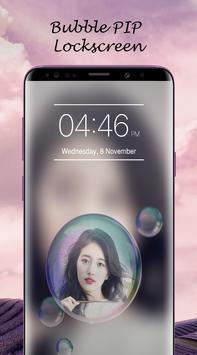 Bubble PIP Lock Screen Love screenshot 3