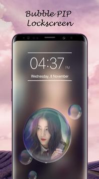 Bubble PIP Lock Screen Love screenshot 4