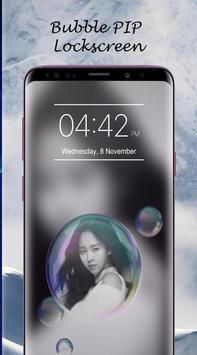 Bubble PIP Lock Screen Love screenshot 6