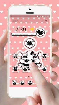 Pirate Cloud Pink Theme screenshot 1