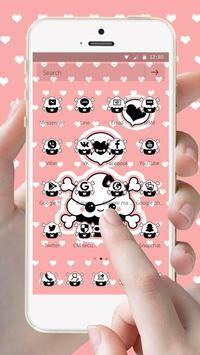 Pirate Cloud Pink Theme screenshot 2