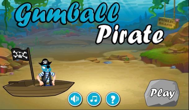 Gumball Pirate Adventure poster