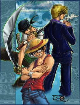 Anime Pirates Comic Wallpaper apk screenshot