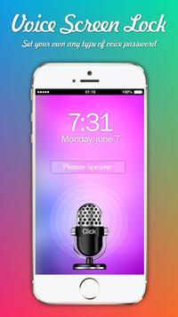 Voice  Screen Lock : Voice Locker screenshot 1