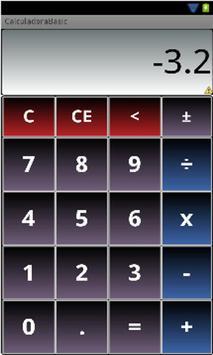 Basic Calculator screenshot 1