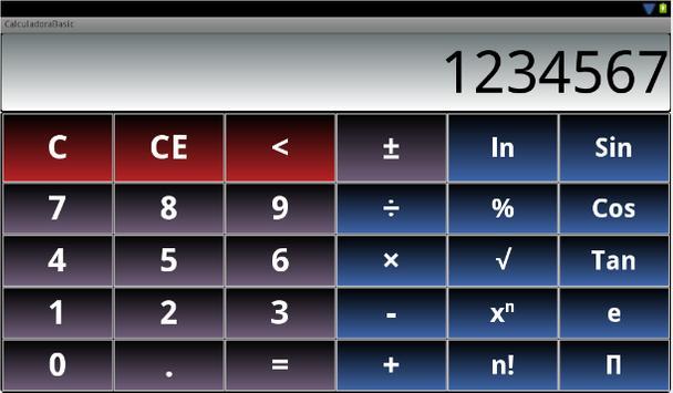 Basic Calculator screenshot 2