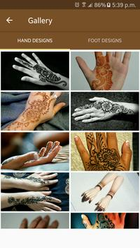 Mehndi Designs 2017 Latest screenshot 1
