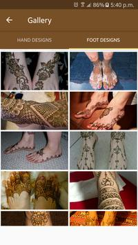 Mehndi Designs 2017 Latest screenshot 2