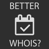 Better WHOIS icon