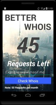 Better WHOIS apk screenshot