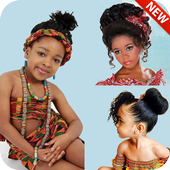 African Kids & Bridal Hairstyles/Party Hairstyle icon