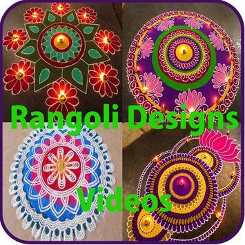 App For Lattest Rangoli Design Videos poster