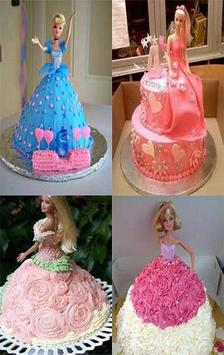 New Barbie Cake Tutorial poster