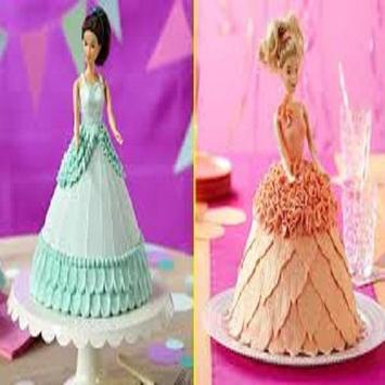 New Barbie Cake Tutorial apk screenshot