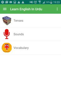 Learn English in Urdu apk screenshot