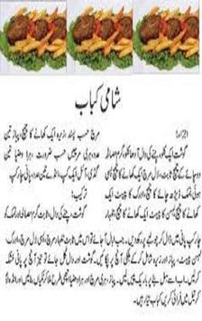 Shami Kabab-Different Recipes apk screenshot